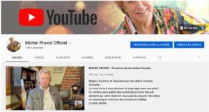 Michel Pruvot sur Youtube